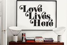 Sweet Home / Some renovation ideas and every kind of household design things for your sweet new home!