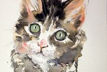 Pets - Advise, Images & Etc. / Dogs, cats - pinning beautiful furry friends real and imaginary