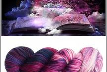 Fibres - Dyeing, Techniques & the Pretties / How to, assorted techniques, useful information for home dyeing of fibres. Beautiful yarns for sale out there.