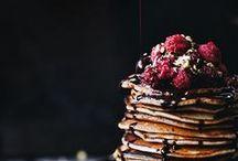 breakfast / basically just pancakes.