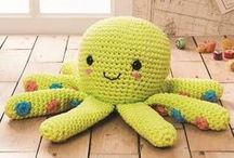 Beside the seaside! / Make these fab seaside friends for your home, made in DMC Natura XL Yummy Colors
