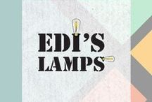 EDIS LAMPS | Our Lighting Stories / Work in progress, sneak peeks of new products, behind the scenes photos and many more!