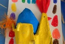Trabalhos de Páscoa | Creche e Pré-Escolar