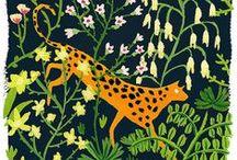 Wildlife illustrations / Beautiful illustrations of animals and plants