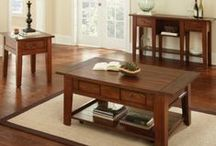 Coffee & Accent Tables / No living room would be complete without the perfect coffee table to gather around with friends for game night, with a side table to hold your favorite lamp. Come in store today or browse more at http://ffohome.com/inventory/living-room-furniture/coffee-tables-end-tables