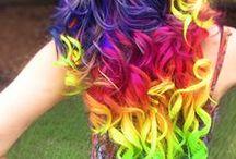 Uniquely different hair colors