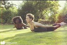 Yoga / Amazing and inspirational yoga poses for different levels and goals