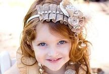 Sew Beautiful/Kid's Headbows & Headbands / by elise blomberg