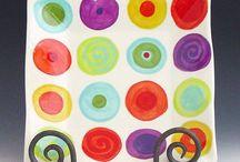 Tile coasters & Ceramics / by Tracy Sanchez