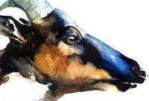 Nobu Kato works / Watercolor art,my painting works