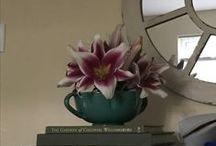 bouquet — / vases. flower combos.
