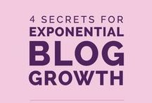 How To Grow A Blog / Getting your blog to grow can be a challenge. This board shares tips for getting eyeballs reading your blog with content, SEO, social media, and relationships.