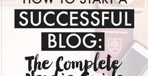 How To Start a Blog / How to start a blog to make money.