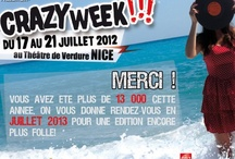 Crazy Week 2012 / Vous y étiez ???  Mika, Shaka Ponk, Riger Hodgsn, Dionysos, Julien Doré, stuck in the Sound, Skip The use, Brigitte, Puggy....