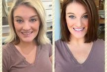 Makeovers at Andreas Hogue Salon / Beautiful before and after pictures @ Andreas Hogue Salon