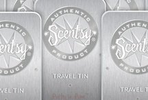 Travel Scent Tins / Scentsy travel tins allow you to place or take your favorite scents on the go.  Placed in your car, your purse or even your desk at work.  www.geneschur.scentsy.us  / by ><> Gene Schur - Independent Scentsy Super Star Consultant. Simply Aroma