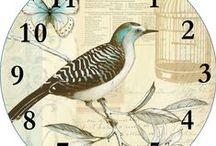 Free printable clock  / me encantan las esferas de relojes y convierto cualquier imagen bonita en un reloj. Espero que os gusten!!