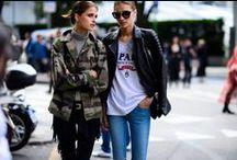 Street Style / Hay mujeres con mucho estilo...