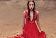 Ruby Red  / 'When in doubt wear red' Bill Blass