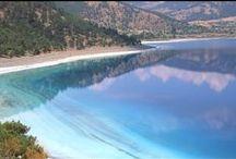 Salda See - Salda Gölü / Ein herausragender See mit glasklarem Wasser und Karibik Feeling mitten in der Türkei zwischen Denizli und Burdur.