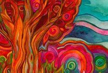 Bright Colors - ART & DESIGN / Bright, colorful works of art and design #color #art #design