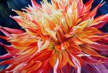Flower ART / Beautiful flowers in art