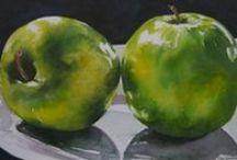 Food in ART & Still life  / Artwork featuring food
