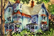 Buildings & Cityscape - ART / Buildings in art, cityscapes too