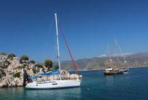 Sailing in Turkey - Segeln in der Türkei