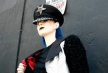 ROCK AND ROLL HATS by Forgotten Saints La / CUSTOM MADE ROCK AND ROLL HATS