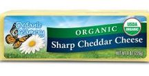 Our Cheeses / Organic Creamery® is the most extensive line of USDA-certified organic cheese varieties in the United States. All of the line's products are hand-crafted by award-winning cheesemakers with 100% organic milk from family farms that practice humane animal management and pasture grazing. Organic Creamery® cheeses are free of pesticides, antibiotics and hormones and use no animal rennet or artificial colorings.