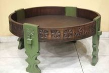 furniture / hand made and hand painted