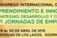 """Congreso Internacional de Emprendimiento / Me complace anunciarte la organización del III CONGRESO INTERNACIONAL DE EMPRENDIMIENTO    sobre: Emprendimiento e Innovación: estrategias, desarrollo y crecimiento sostenible"""" que vamos a celebrar en la  ciudad Osorno (CHILE)  durante los días  28 al 30  de Abril 2015. Lugar: Universidad de los Lagos.  Chile. Osorno https://isse2015chile.wordpress.com/presentacio/ Inscripción: Cumplimentar formato  https://isse2015chile.wordpress.com/presentacio/"""