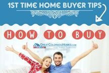 First Time Home Buyers / Everything you need to know for buying your first home! Saving, buying & even a little DIY