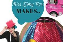 Miss Libby Rose makes... / Sewing workshops, tutorials and hacks by Miss Libby Rose showing you ideas working with Hobbycraft fat quarters & haberdashery, Janome sewing, embroidery & overlock machines plus some simplicity patterns! Watch this board for updates :-)