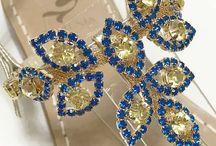 Infradito gioiello - Sandali Capri / Jewel sandals handmade in Italy