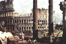 Ruins Paintings / Paintings of ruins around the world