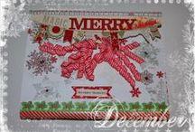 Christmas/My creations / SM Scrapmagie