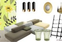 Living room Moodboards by A-Interior Designs / Living room moodboard by A-Interior Designs