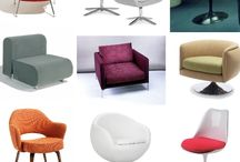 """Accent chairs / Designers and """"non-designers"""" chairs that catch my eye! Well designed chair can change the whole atmosphere:)"""