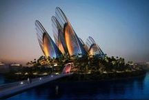 Architecture / Welcome to the Future - unique and iconic buildings and designs, some are yet stunningly beautiful proposals, some are already real / by Denise Goldau