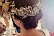Tocados y sombreros de boda / Bridal headdress & hats