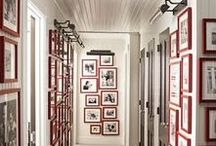 Photo Frames & Gallery Walls / This board is all about gallery walls, frame arranging, photo displays and wall art. How to hang pictures at home and make them looks stylish modern and amazing, we have particular weak spot for a Instagram gallery walls.