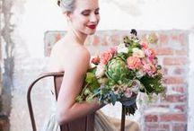 WEDDING INSPIRATION | FLORALS Bouquets, Centrepieces & Misc.