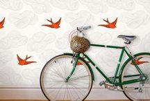 Cyclechic | Bikes at home / Examples of bikes looking super stylish in beautiful interiors / by Cyclechic Ltd