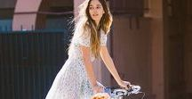 Cycling in: spring / Our favourite fashion trends and bike accessories for spring summer cycling.