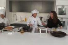 Visita Escuela de Cocina TELVA 2014 / Visita de la V promoción de estudiantes de Periodismo Gastronómico y Nutricional de la UCM a la Escuela de Cocina Telva.