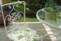 El jardín, naturalmente! / Interior o exterior, un oasis de alegría!