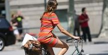 Cycling in: summer / What we are cycling in this summer from latest trends to our favourite accessories and styles and clothes that work well both on and off the bike