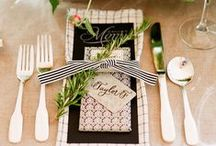 WEDDING INSPIRATION | Tablescapes and Table Settings